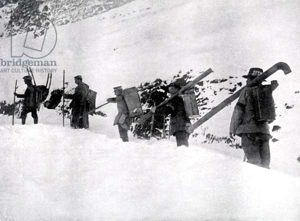 World War 1: Hungarians Workers Unit in the Dolomites