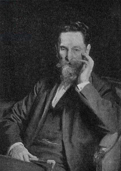 Joseph Pulitzer - portrait