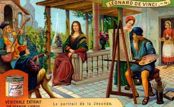The Life of Leonardo da Vinci: Painting the Mona Lisa