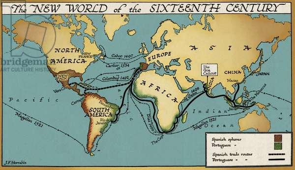 The new world of the 16th century