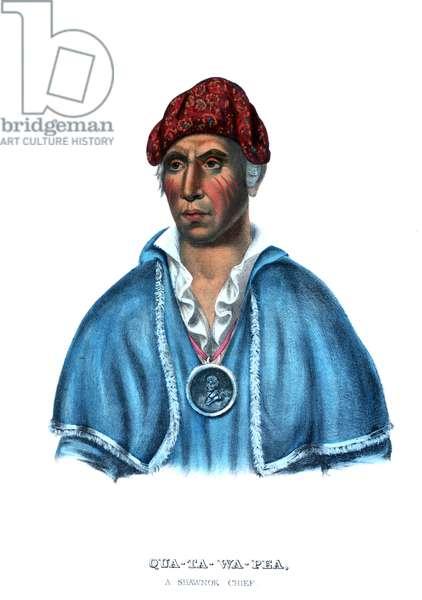 Quatawapea, or Colonel Lewis