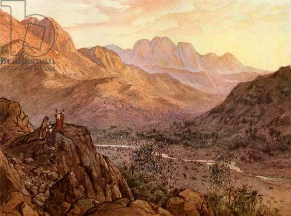 The Battle of Rephidim, Exodus - Bible