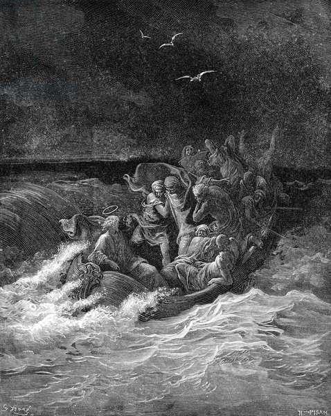 Jesus calms the storm - Bible
