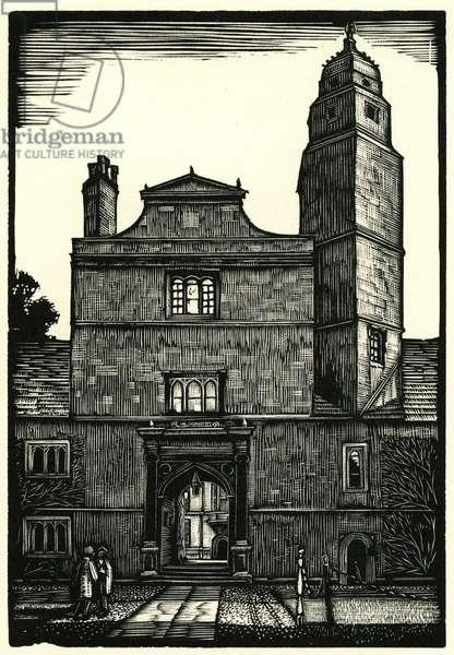 Gonville & Caius College. Cambridge University.