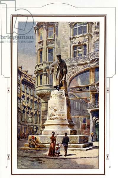 Gutenberg's memorial in Vienna