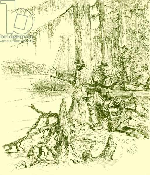 American Civil War - Confederate sharp -shooters