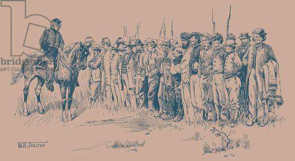 Conferderate prisoners - American Civil War