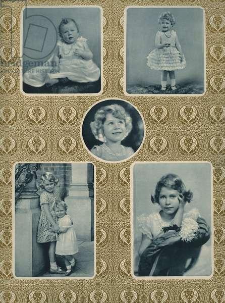 Elizabeth II as a child