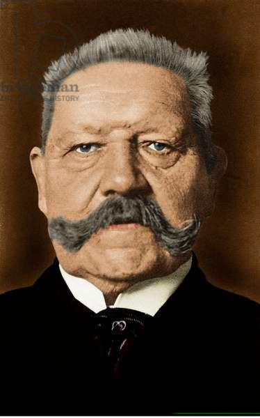 Paul von Hindenburg -