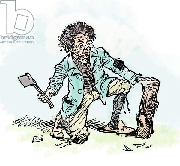 Pinocchio: Master Antonio, carpenter