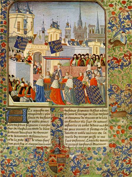 The entry of Queen Isabel into Paris