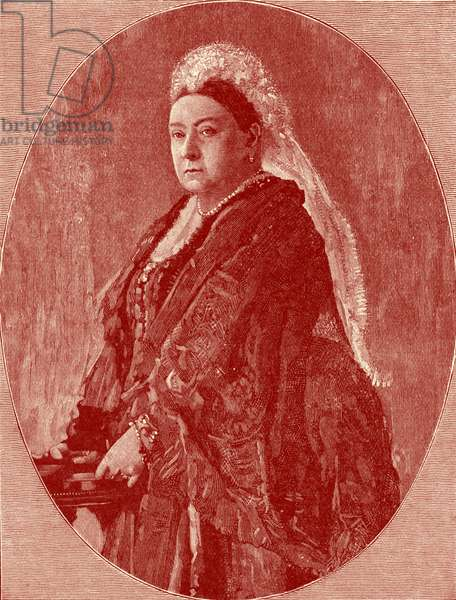 Queen Victoria - portrait in year of Golden Jubilee