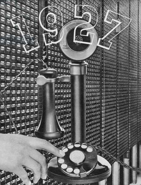 First automatic telephone exchange