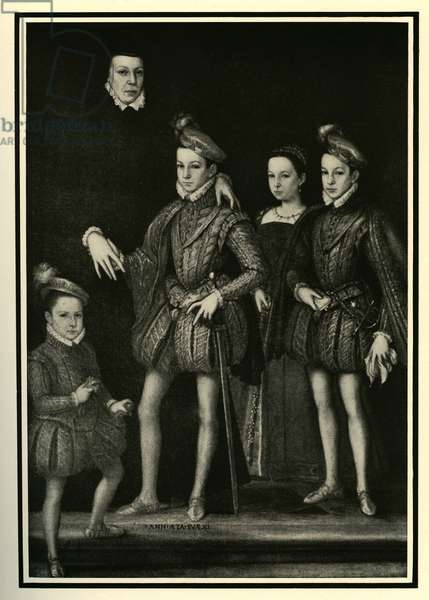 Catherine de' Medici and her family