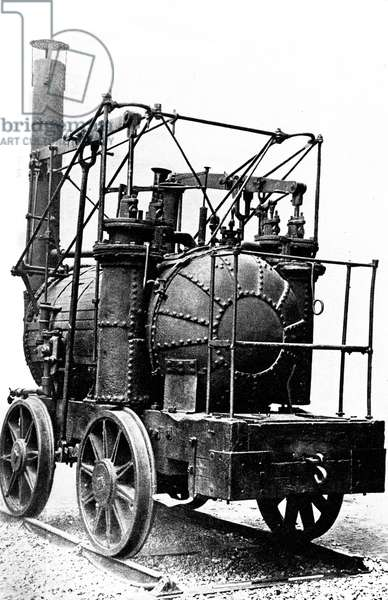 'Puffing Billy', locomotive  by William Hedley