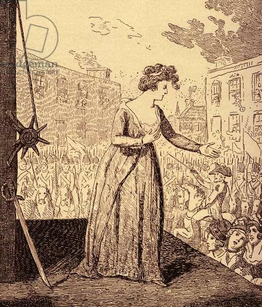 Marie Antoinette martyrdom
