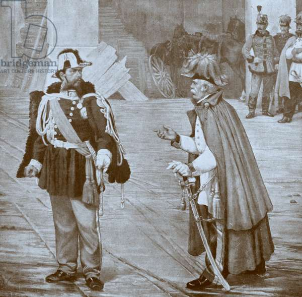 Victor Emmanuel and Count Radetzky