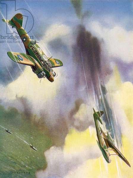 WW2 - Air battles between RAF and Luftwaffe