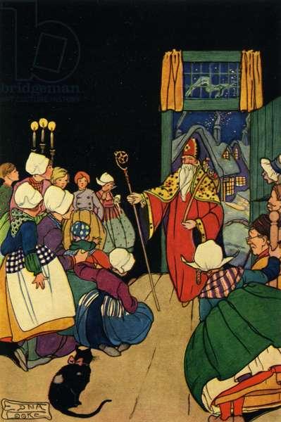 Saint Nicholas arrives
