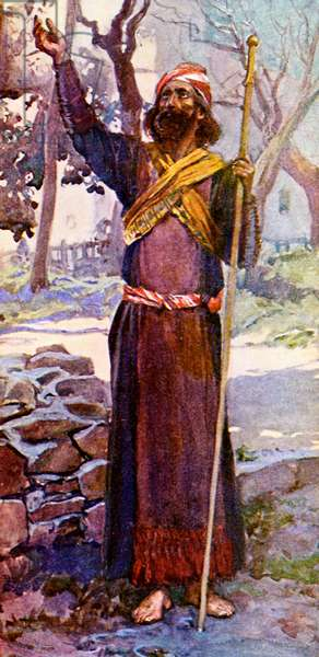 Zechariah by J James Tissot - Bible