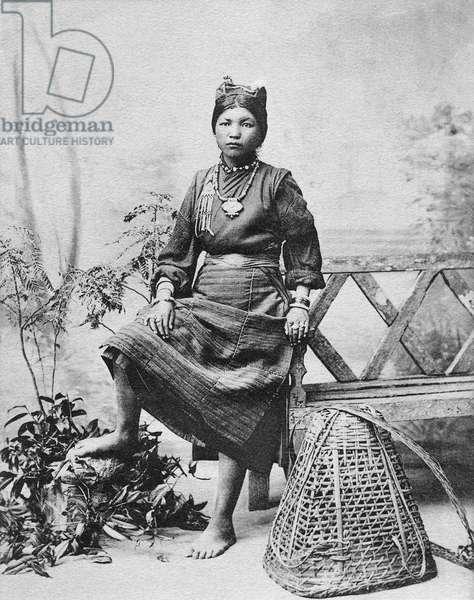 Female labourer, India