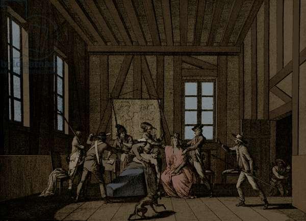 Assassination of Jean-Paul Marat -