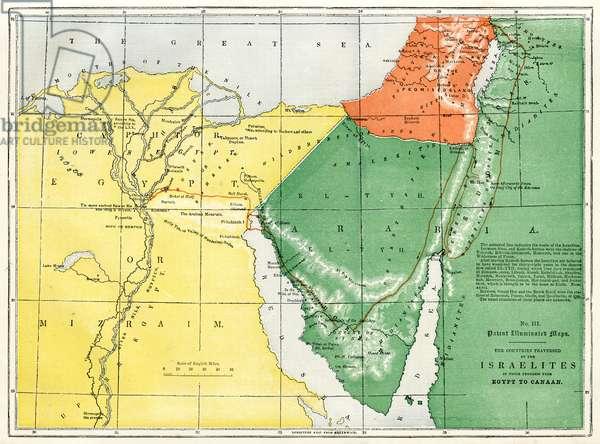 Israelites exodus from Egypt