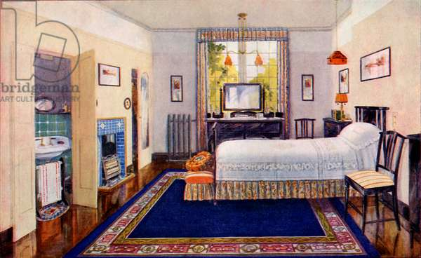 Mrs  Beeton cookery book - Modern Bedroom