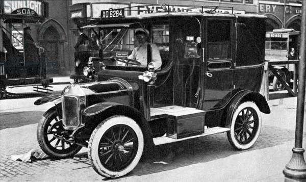 Taxi car, 1920s