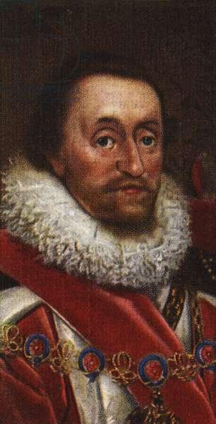 King James I portrait