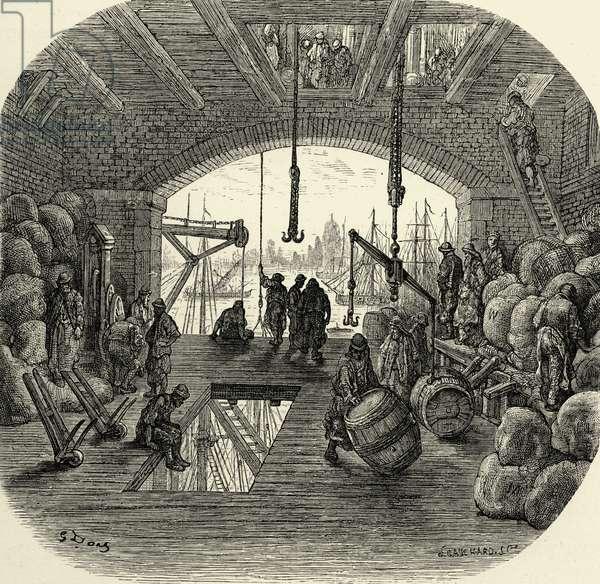 A Victorian London city throughfare
