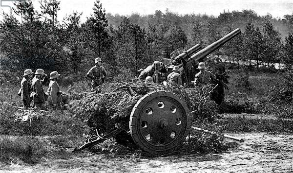 WW2 - German artillery