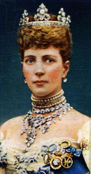 Queen Alexandra of Denmark  portrait