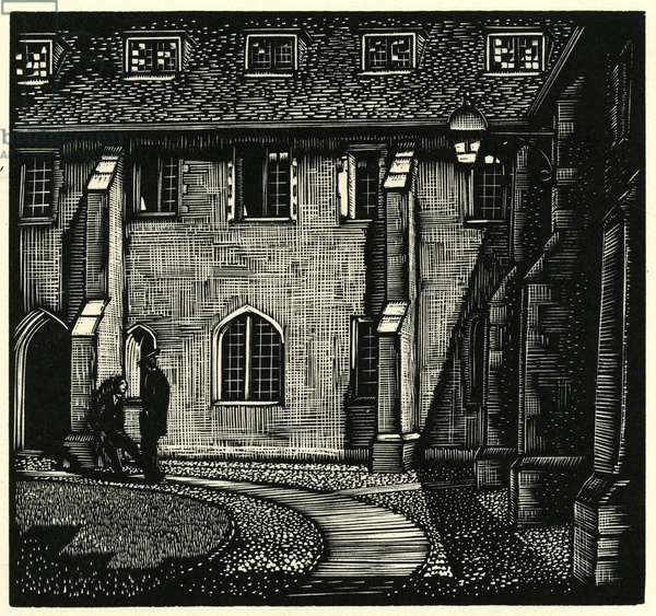 Corpus Christi College, Old Court. Cambridge University.