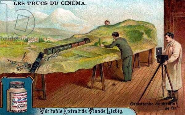 Tricks of Early Cinema: A Train Crash.
