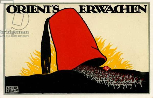 Orient's erwachen, 1914