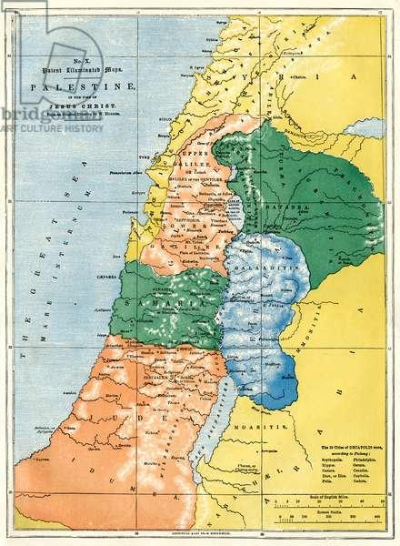 Palestine in the time of Jesus