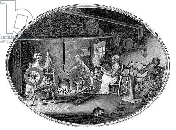 Irish linen manufacture
