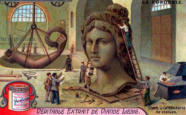 Metal casting: Statue casting foundry