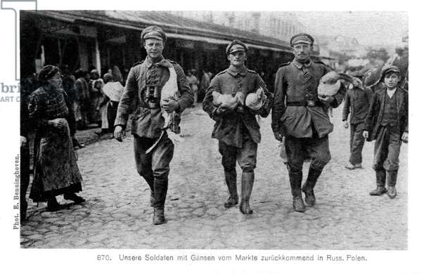 German Occupation on the Eastern Front  in WWI