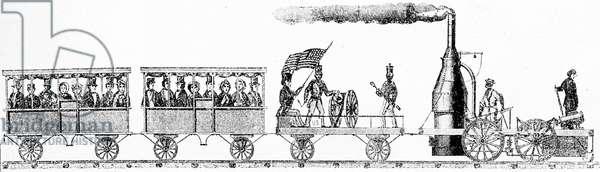 'Best Friend', locomotive by Miller