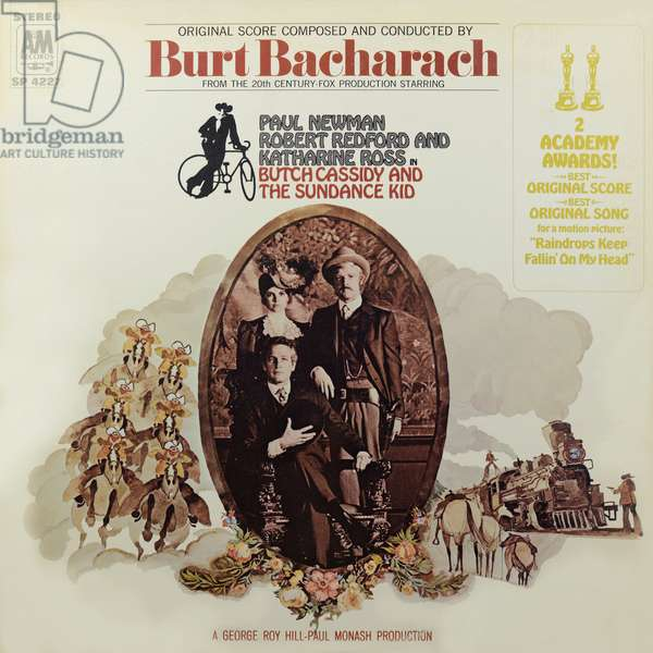 Butch Cassidy And The Sundance Kid LP cover