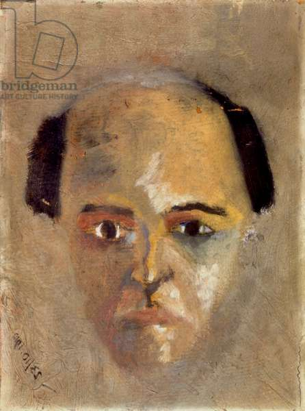 SCHOENBERG, Arnold - self portait 23