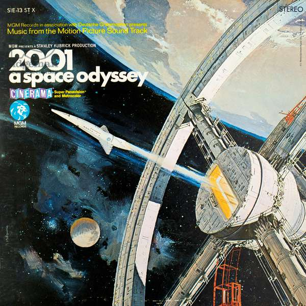 2001: A Space Odyssey - Music From The Motion Picture Soundtrack LP cover