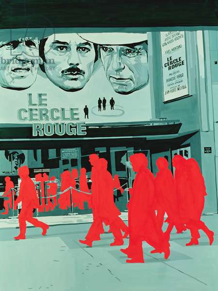 Le Cercle Rouge directed By Jean-Pierre Melville, 1970