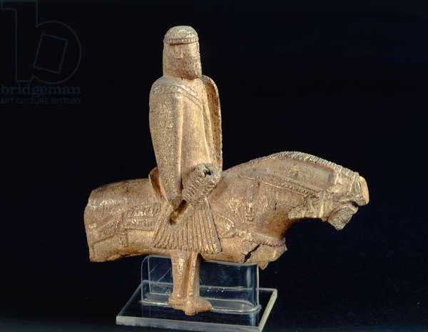 Knight on horseback, right profile (bone) (see also 174848)
