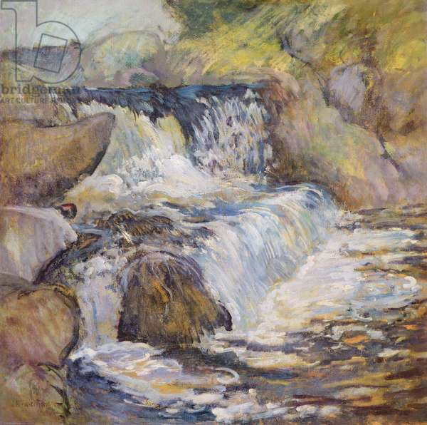 The Cascade, c.1889 (oil on canvas)