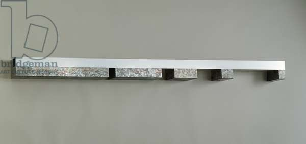Untitled, 1979 (galvanized steel and anodized aluminum)