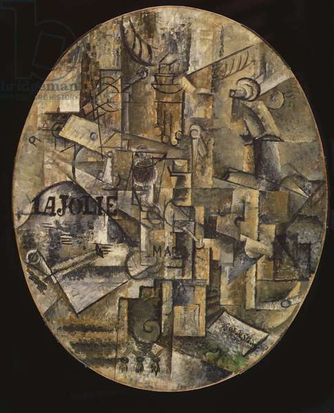 The Architect's Table, 1912 (oil on canvas mounted on panel)