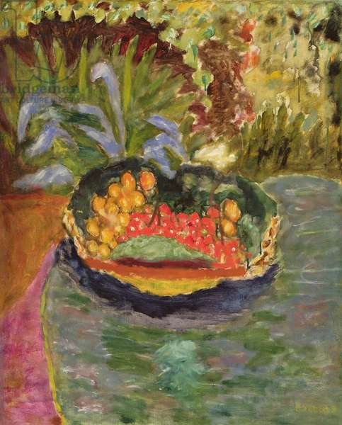Still Life with Fruit, c.1943-44 (oil on canvas)